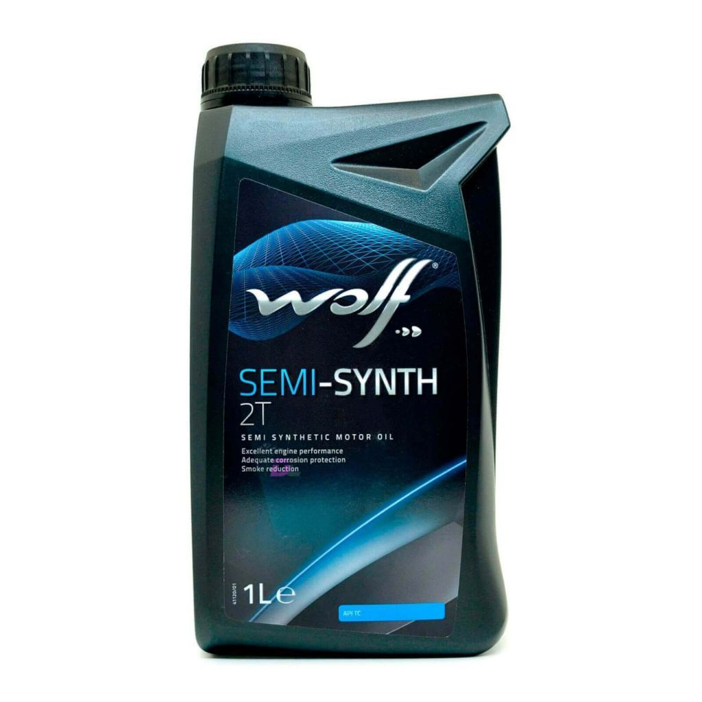 Wolf 2T SEMI-SYNTH Motor Oil 1L