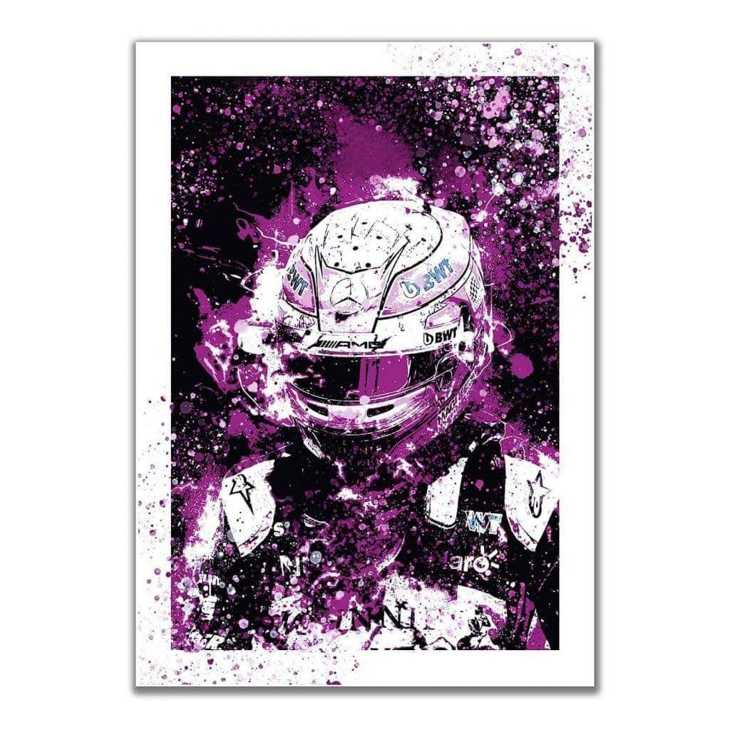 """""""Perez - SportPesa Racing Point F1 Team"""" - Оригинальные постеры на стену с гонщиком"""