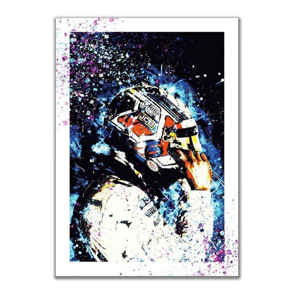 George Russell - ROKiT Williams Racing - Постеры для интерьера с пилотом F1