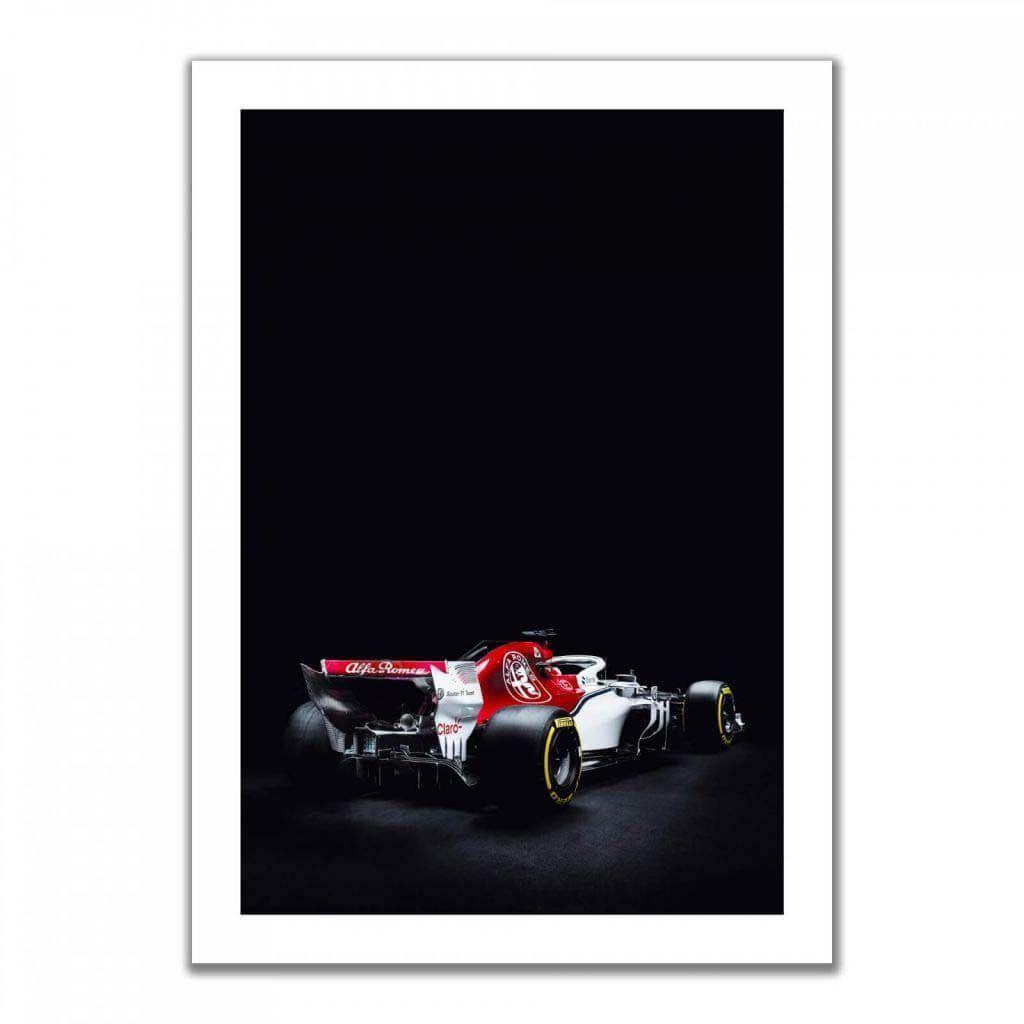 """""""Alfa Romeo C38"""" - Дизайнерские постеры с машинами Formula 1"""