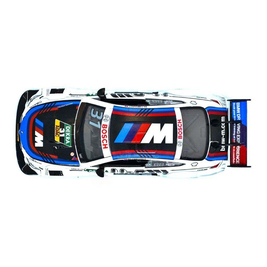 Гоночные коллекционные машинки BMW M4 DTM - #31 - TOM BLOMQVIST - H&R - 1:32
