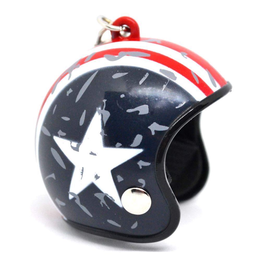 Гоночный шлем - Capitan America