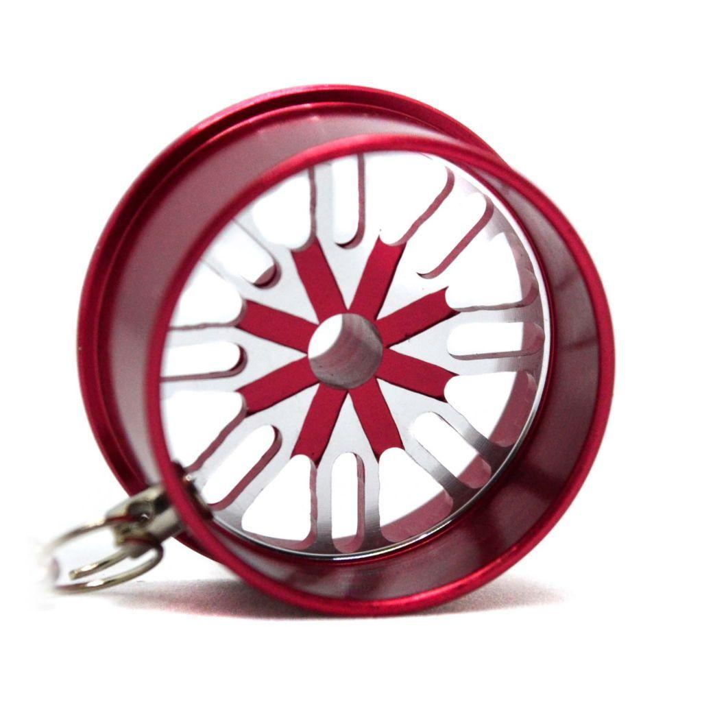 Колесный диск с карабином  - КРАСНЫЙ