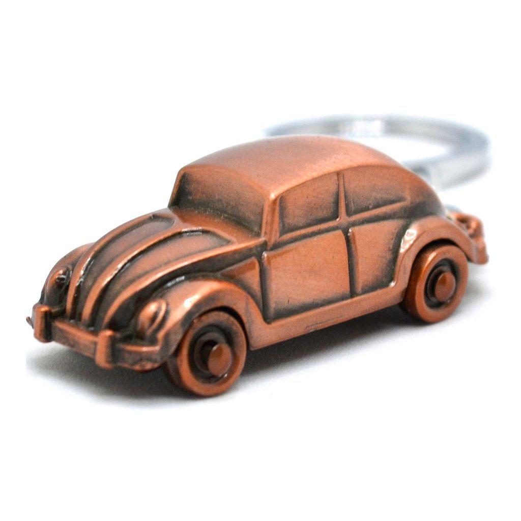 Купить брелок для ключей авто Volkswagen Жук - Бронзовый