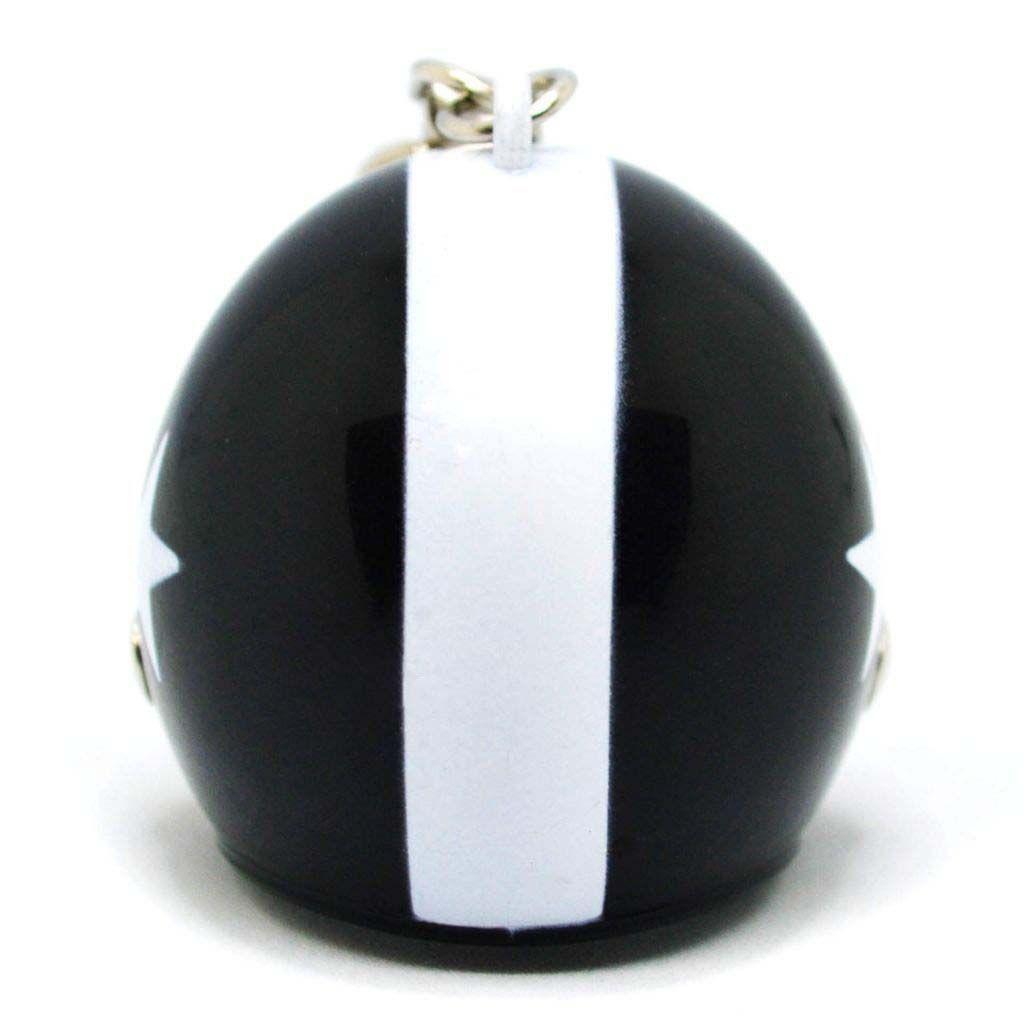 Брелок для ключей в виде черного шлема