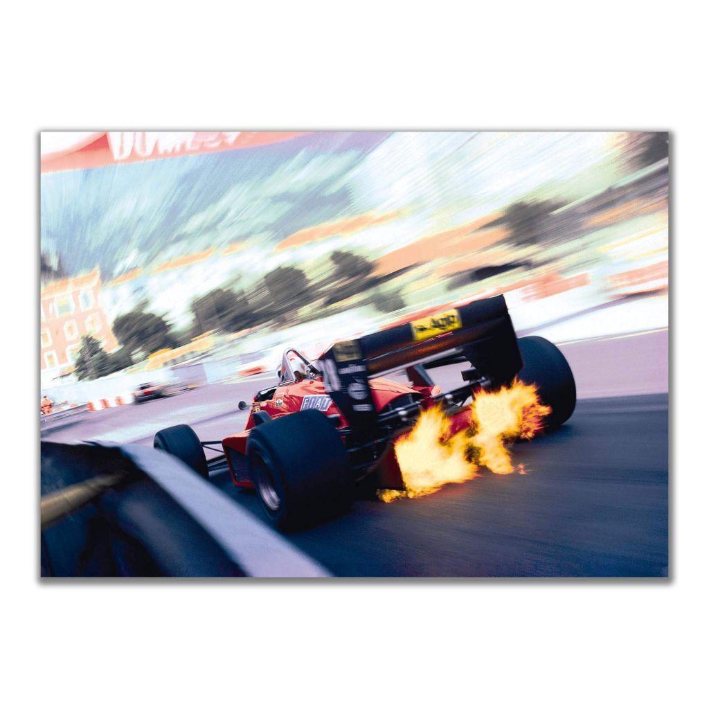 Постеры для домашнего интерьера с гоночной Ferrari 156/85 F1