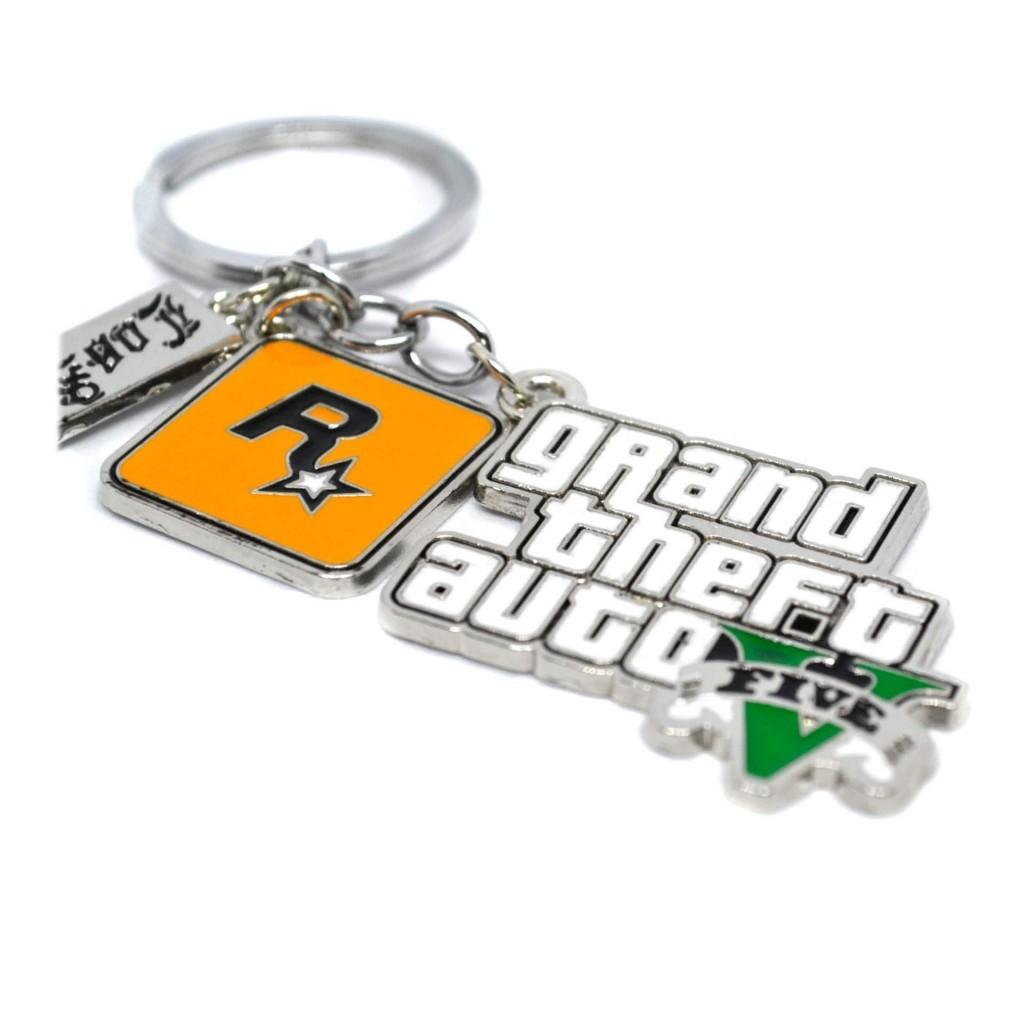 брелок стилизованный под логотип GTA 5