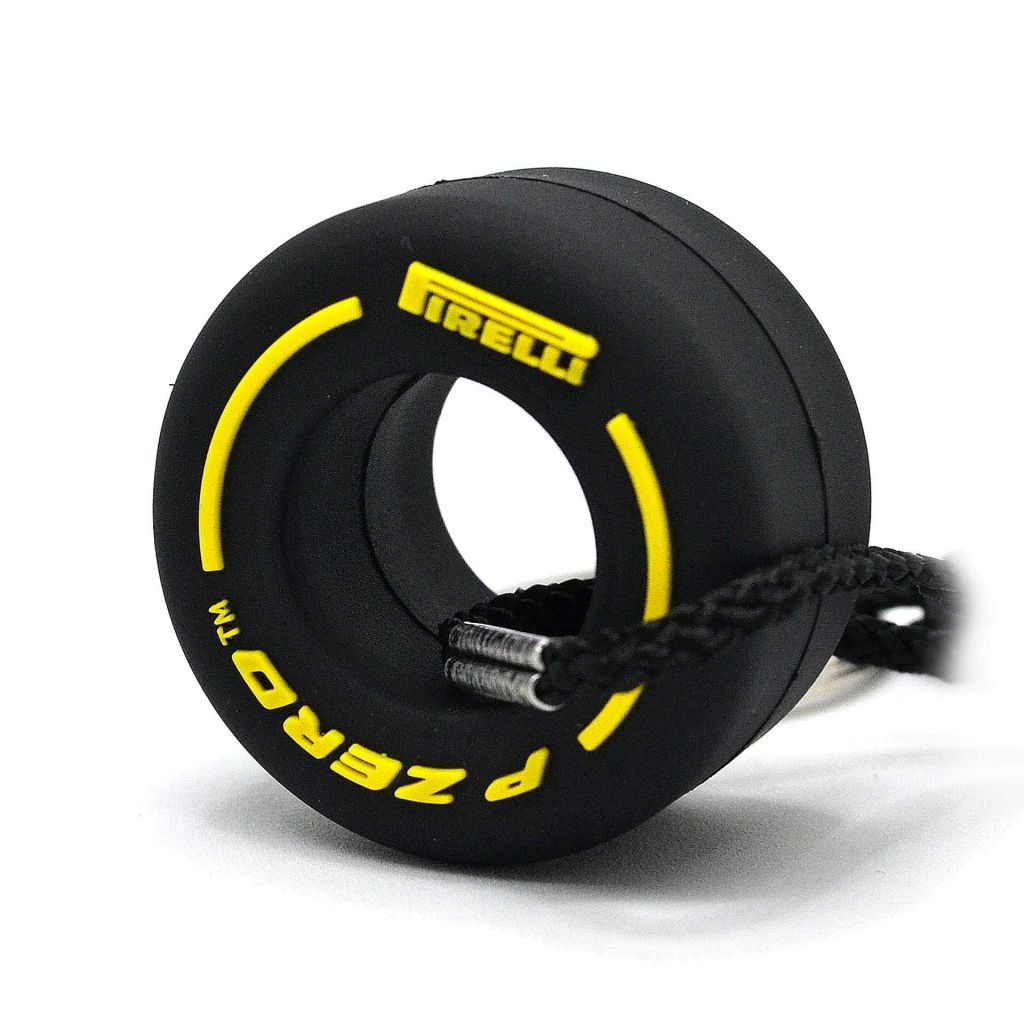 ПОКРЫШКА F1 Pirelli P ZERO Soft - YELLOW