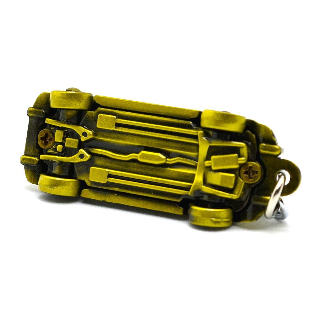 Брелок для ключей авто Volkswagen Жук - Желтый