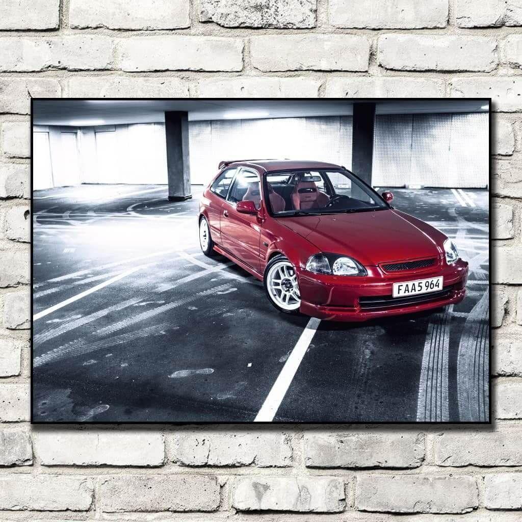 Постер Honda Civic Type-R 1997