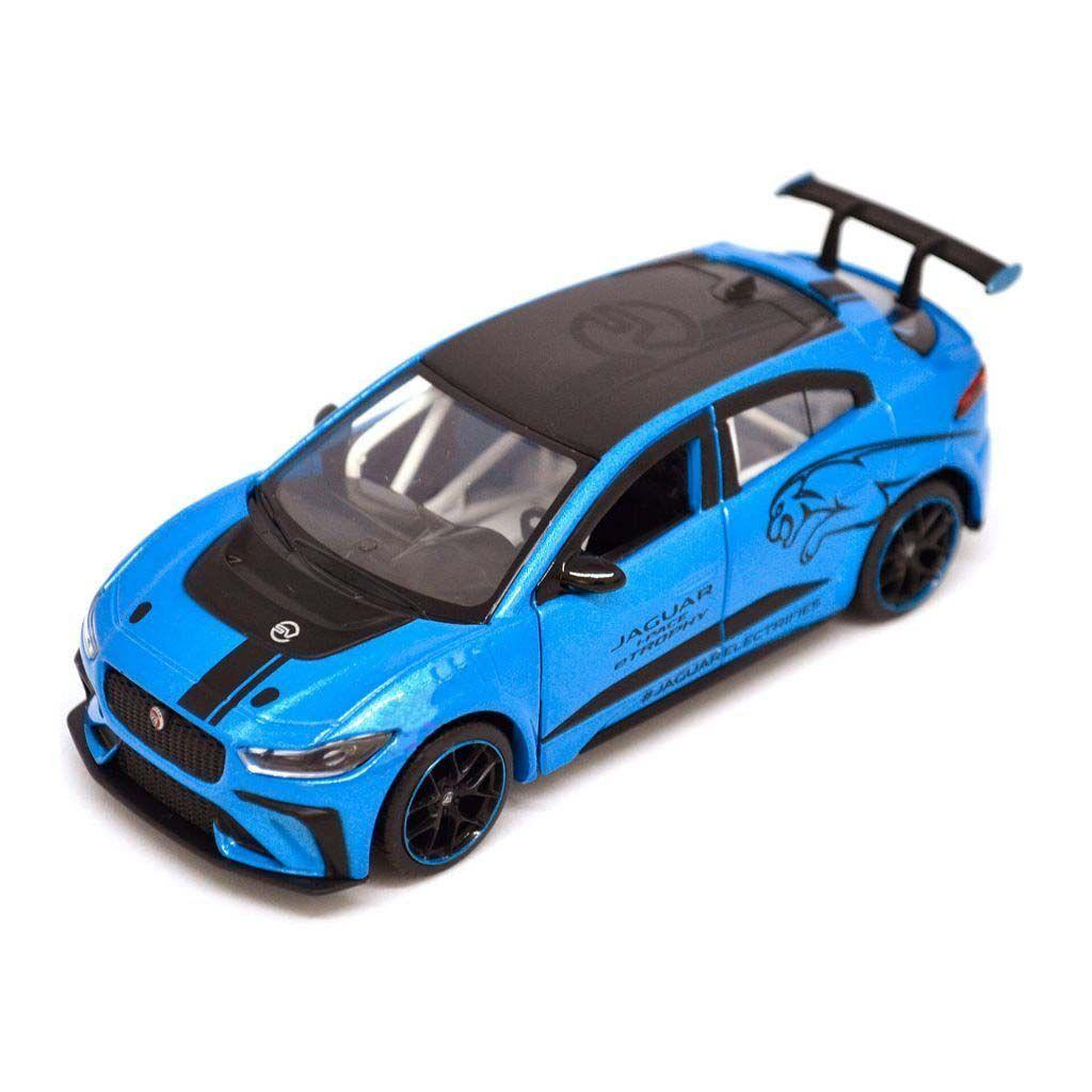 Масштабная автомодель - JAGUAR I-PACE ETROPHY - 1:36 - BLUE