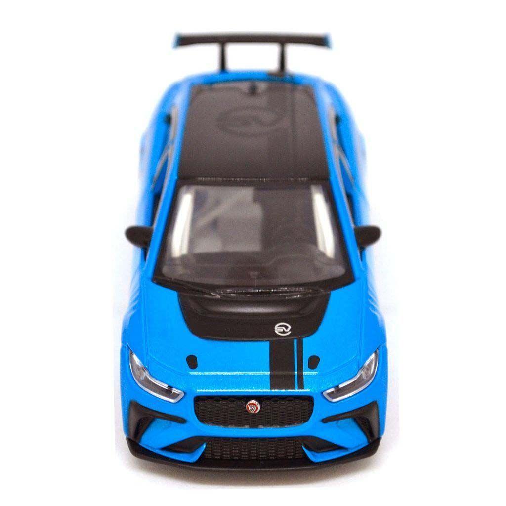 Точные модели автомобилей - JAGUAR I-PACE ETROPHY - 1:36 - BLUE