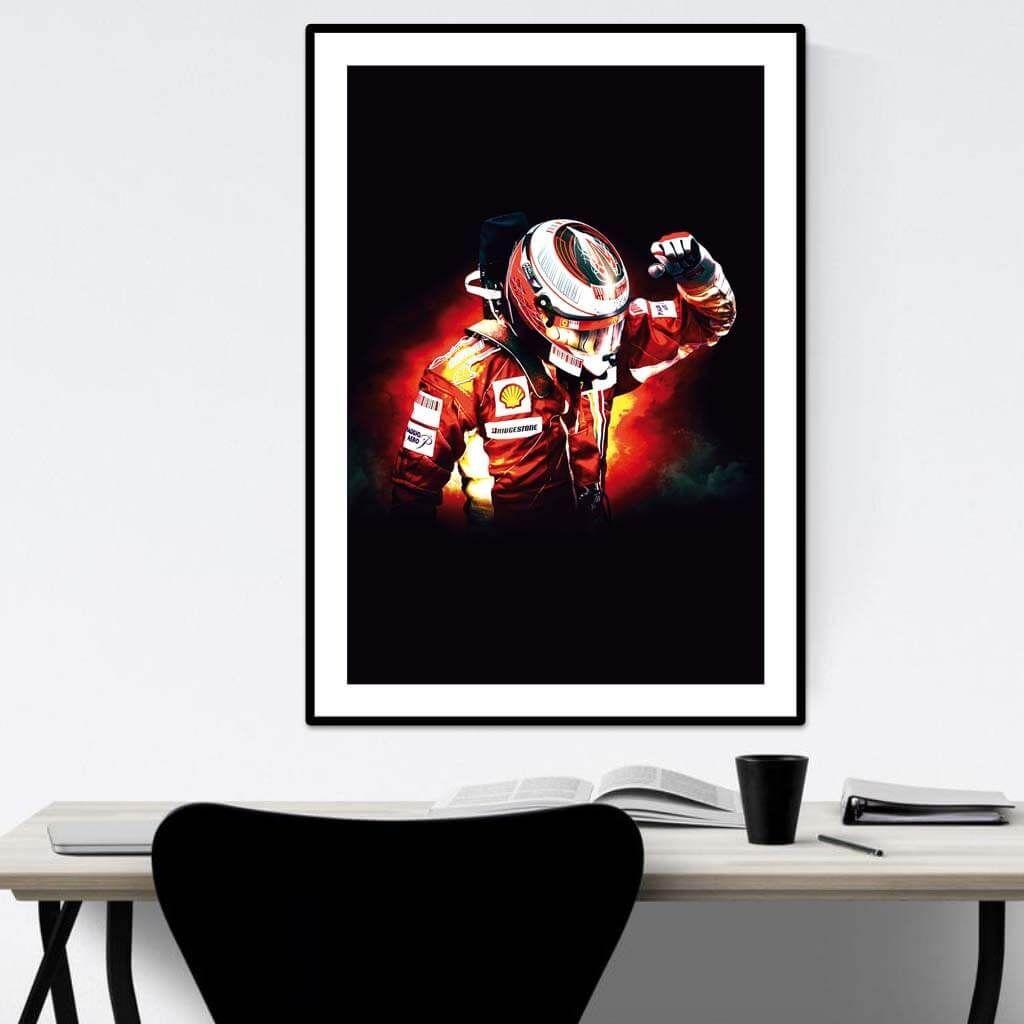 Kimi Raikkonen - Scuderia Ferrari - В РАМКЕ