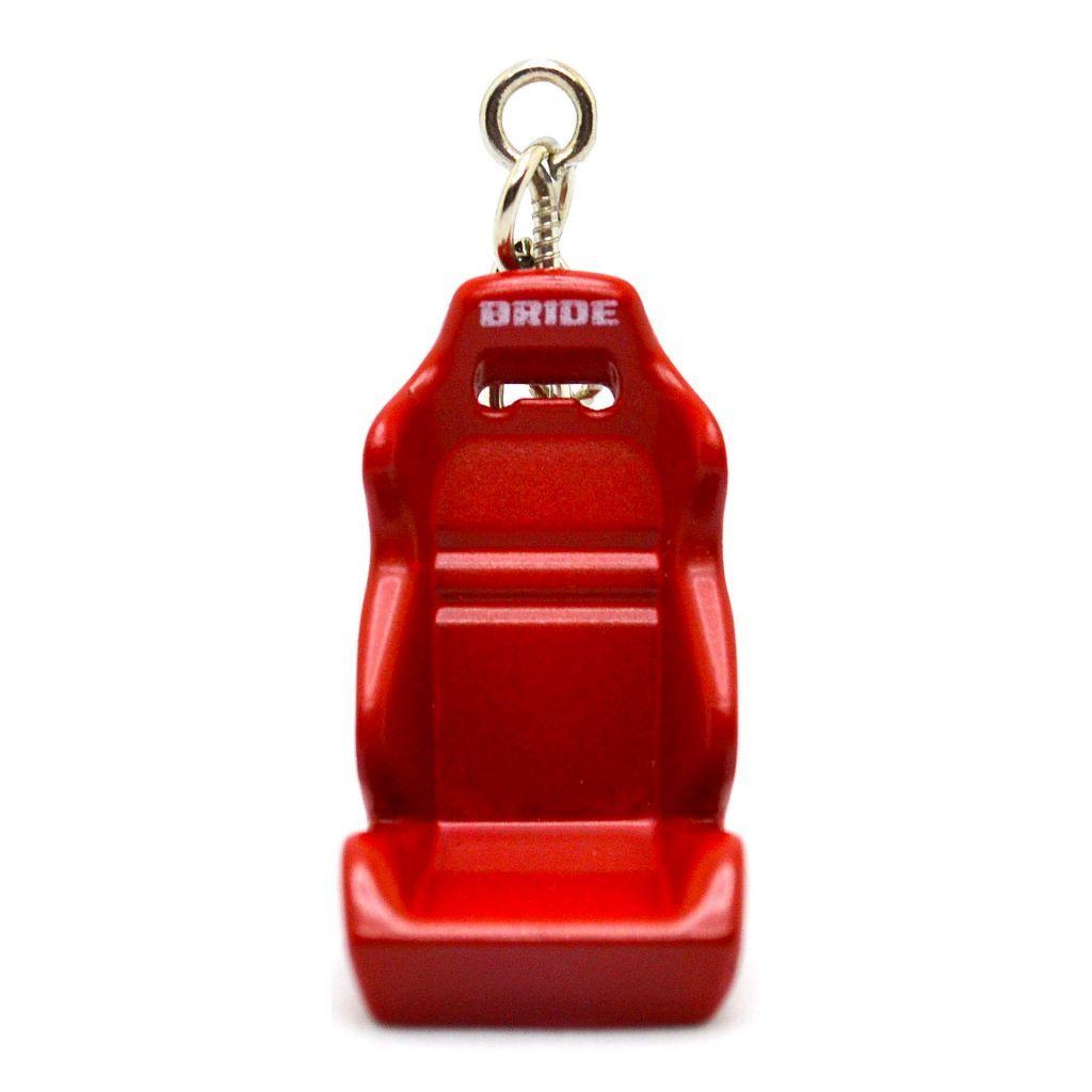 Модные брелки на сумки - Гоночное кресло BRIDE - Красное