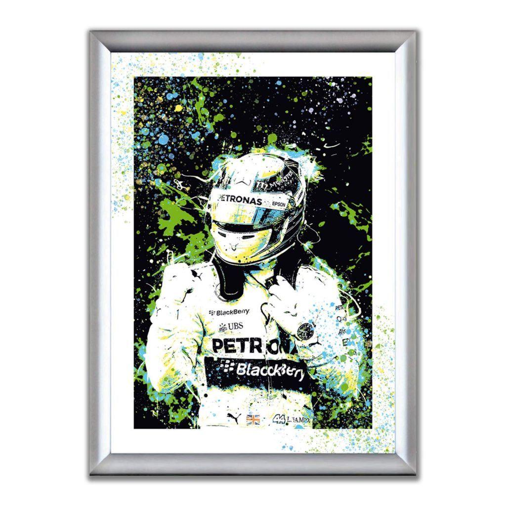 Lewis Hamilton - Mercedes-AMG Petronas F1 Team - В РАМКЕ