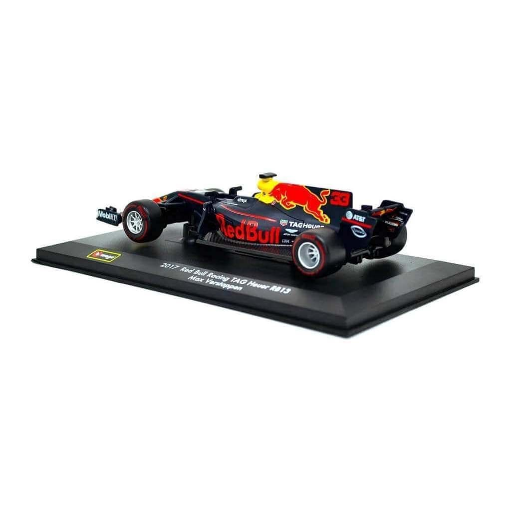 Коллекционная модель болида Формулы 1 - Red Bull RB13 TAG-Heuer #33 - 1:32