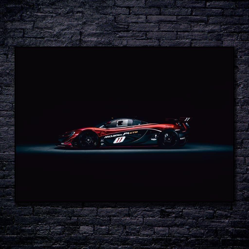 """Постеры и плакаты на стену с """"McLaren P1 GTR"""", для интерьера"""