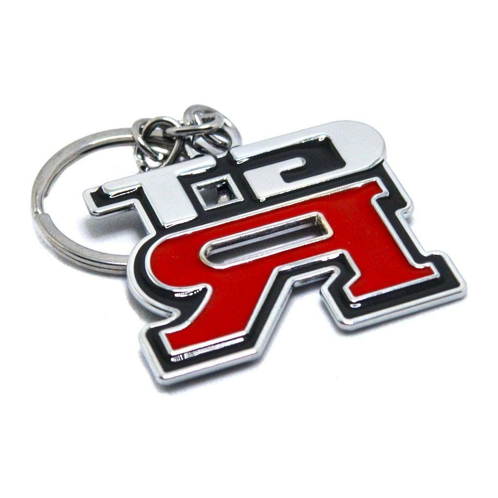 Металлический брелок для ключей - Логотип Nissan GT-R