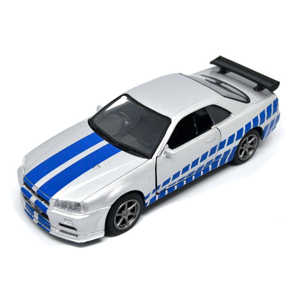 Nissan Skyline Ares GTR R34 Diecasts Fast & Furious Paul Walker