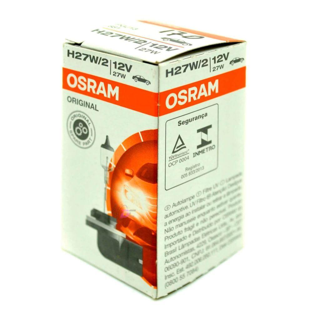 Галогенная лампа противотуманного света - OSRAM ORIGINAL H27W/2 12V