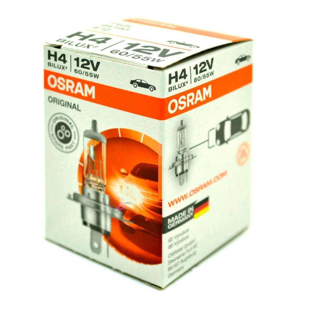 Галогенная лампа для машины - OSRAM ORIGINAL H4 60/55W V12 P43t