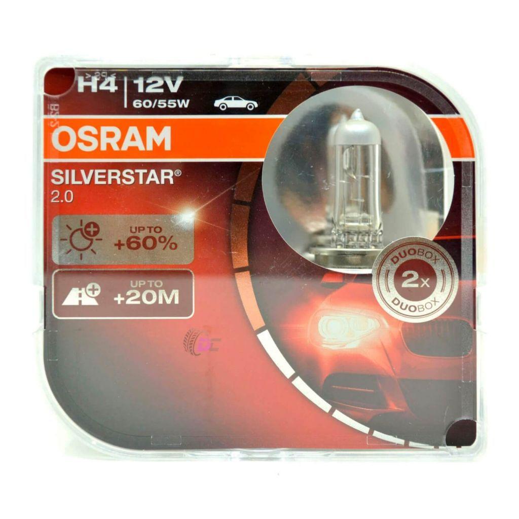 OSRAM SILVERSTAR 2.0 H4 60/55W 12V