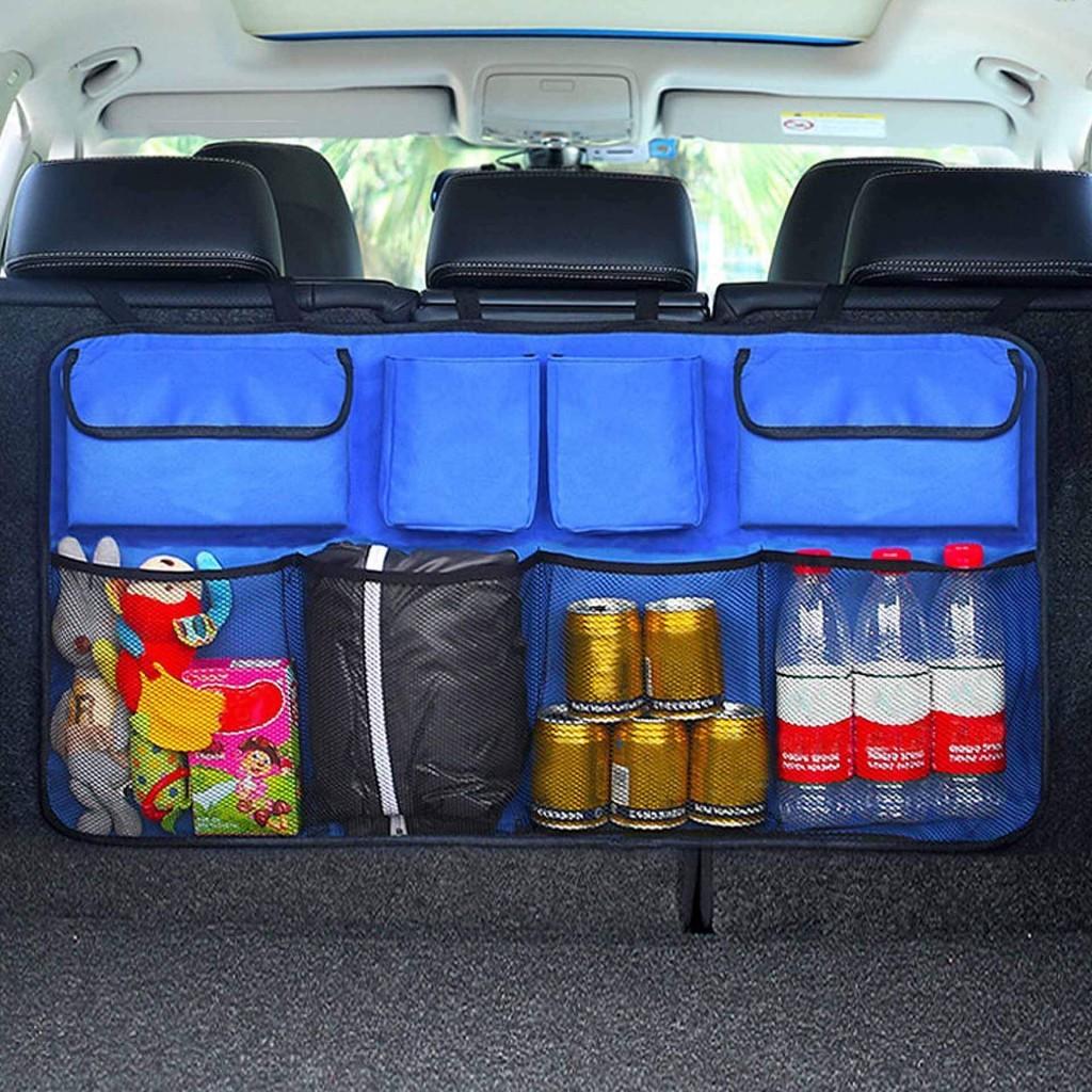 Купить органайзеры в багажник авто - черный цвет