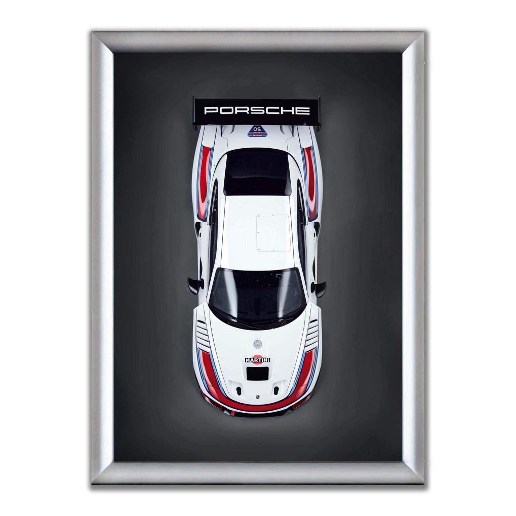 Постер на стену в рамке - Porsche 935 (2019)