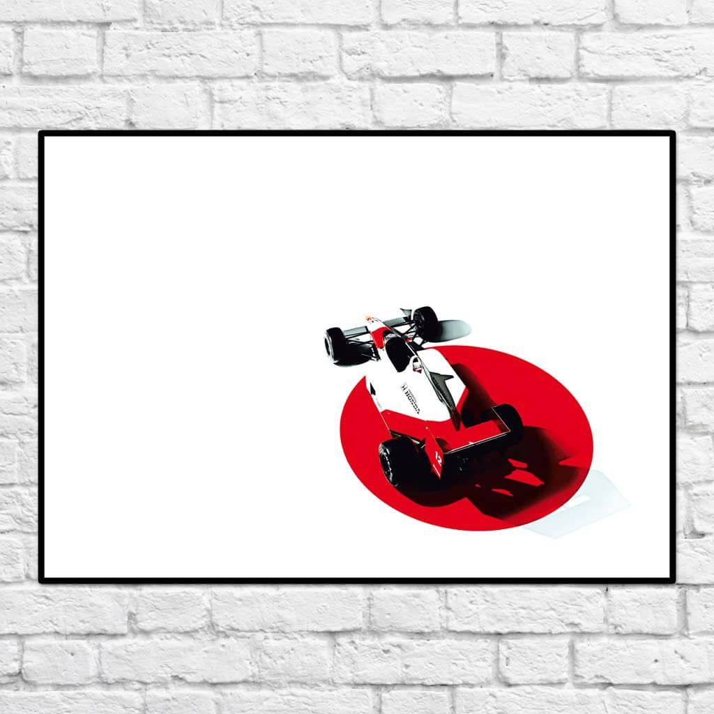 McLaren-Honda MP4/4.h - В РАМКЕ