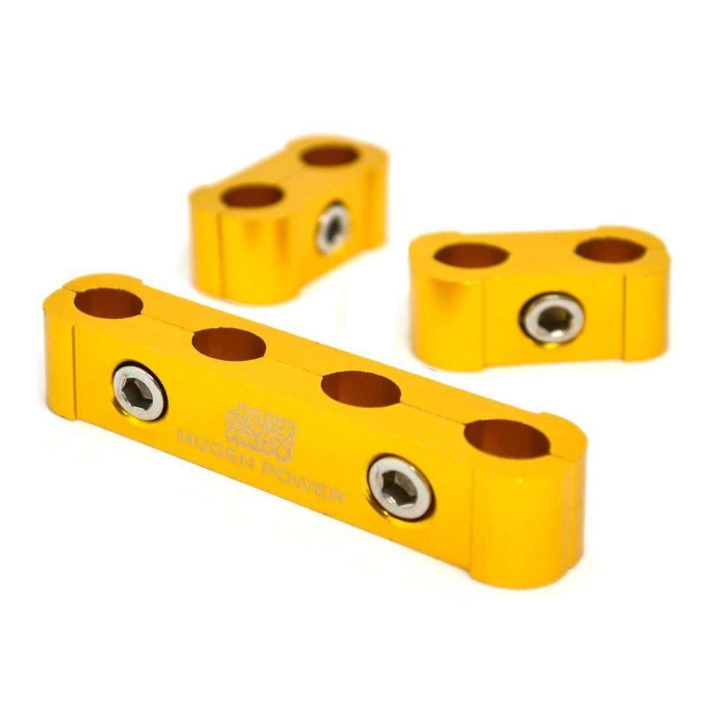 Желтый зажимной сепаратор провода свечей зажигания и накала - MUGEN