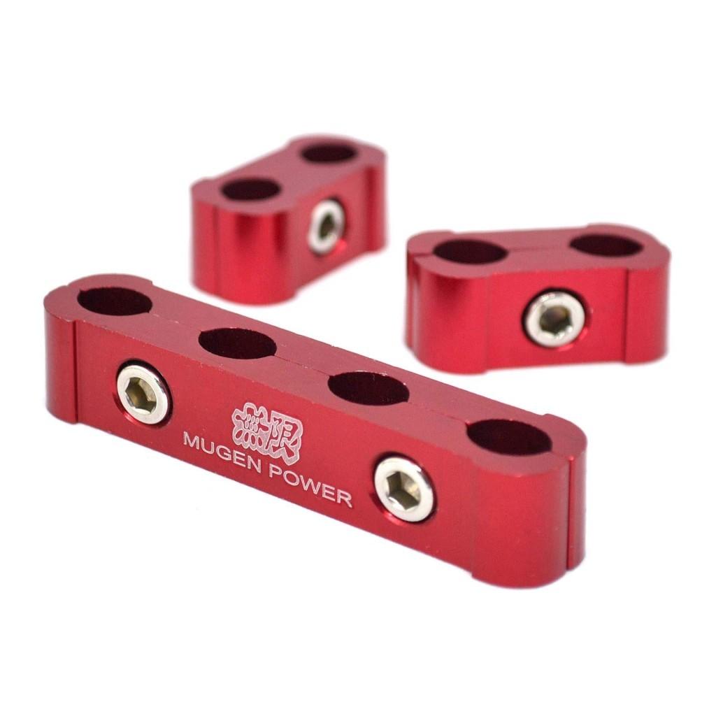 Красный зажимной сепаратор провода свечей зажигания и накала - MUGEN