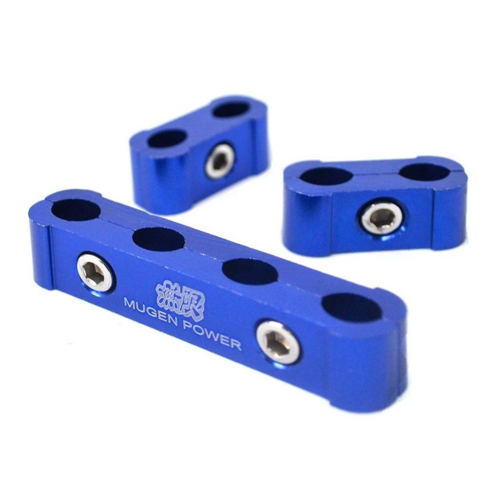 Синий зажимной сепаратор провода свечей зажигания и накала - MUGEN