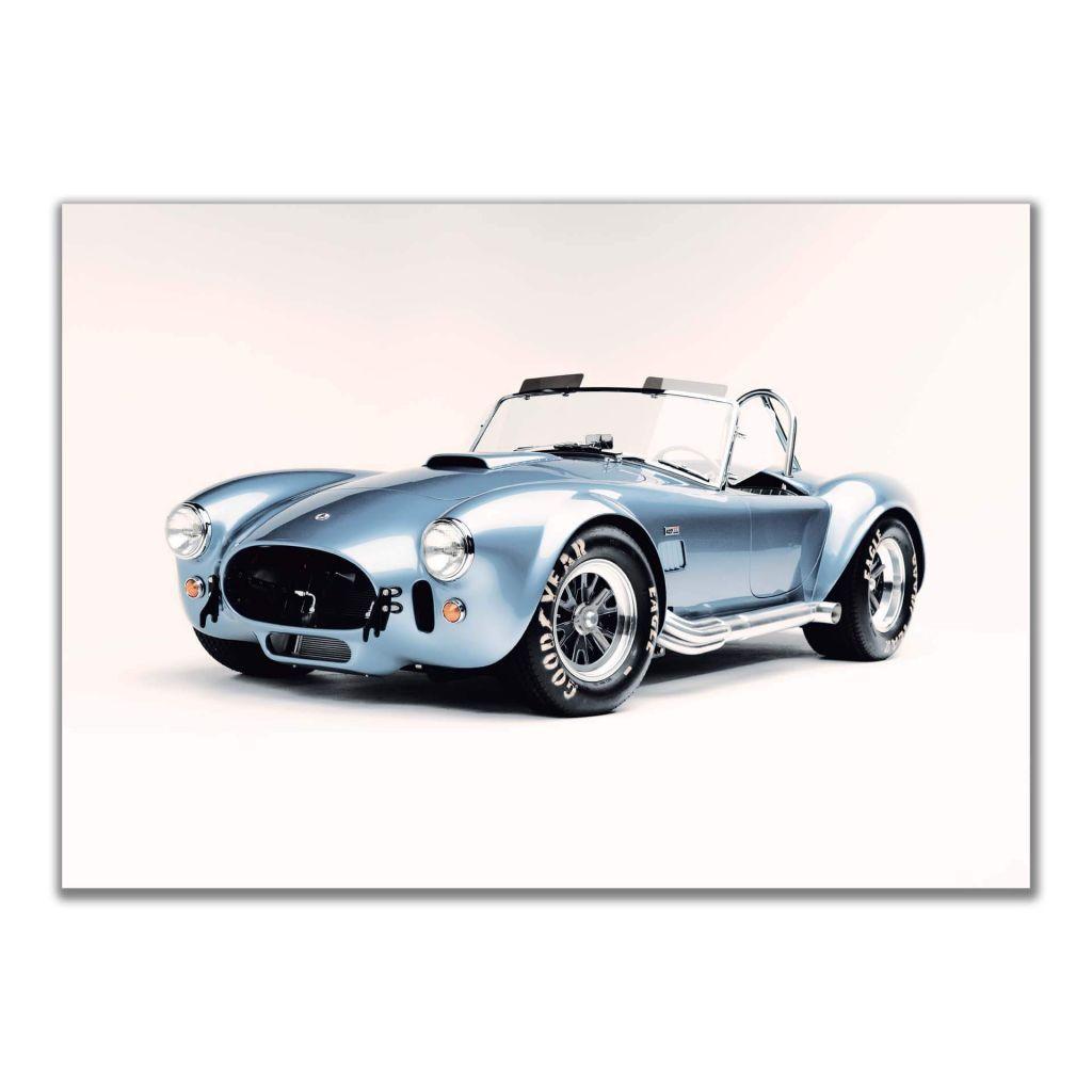Постер Shelby Cobra 427 - лучший подарок автогонщику