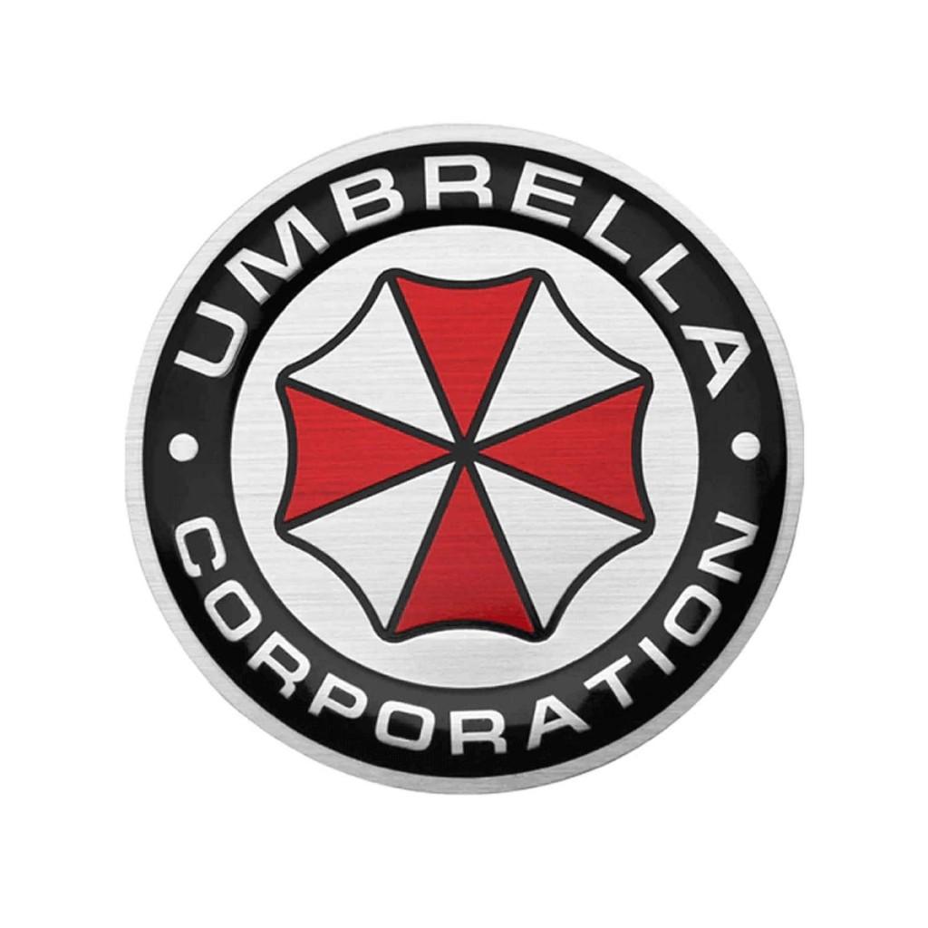 """Круглый шильд """"Umbrella Corporaton"""""""