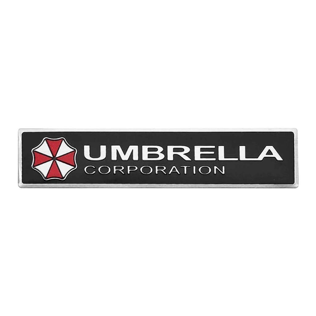 """""""Umbrella Corporaton"""" наклейка на авто. Купить стикер на машину"""