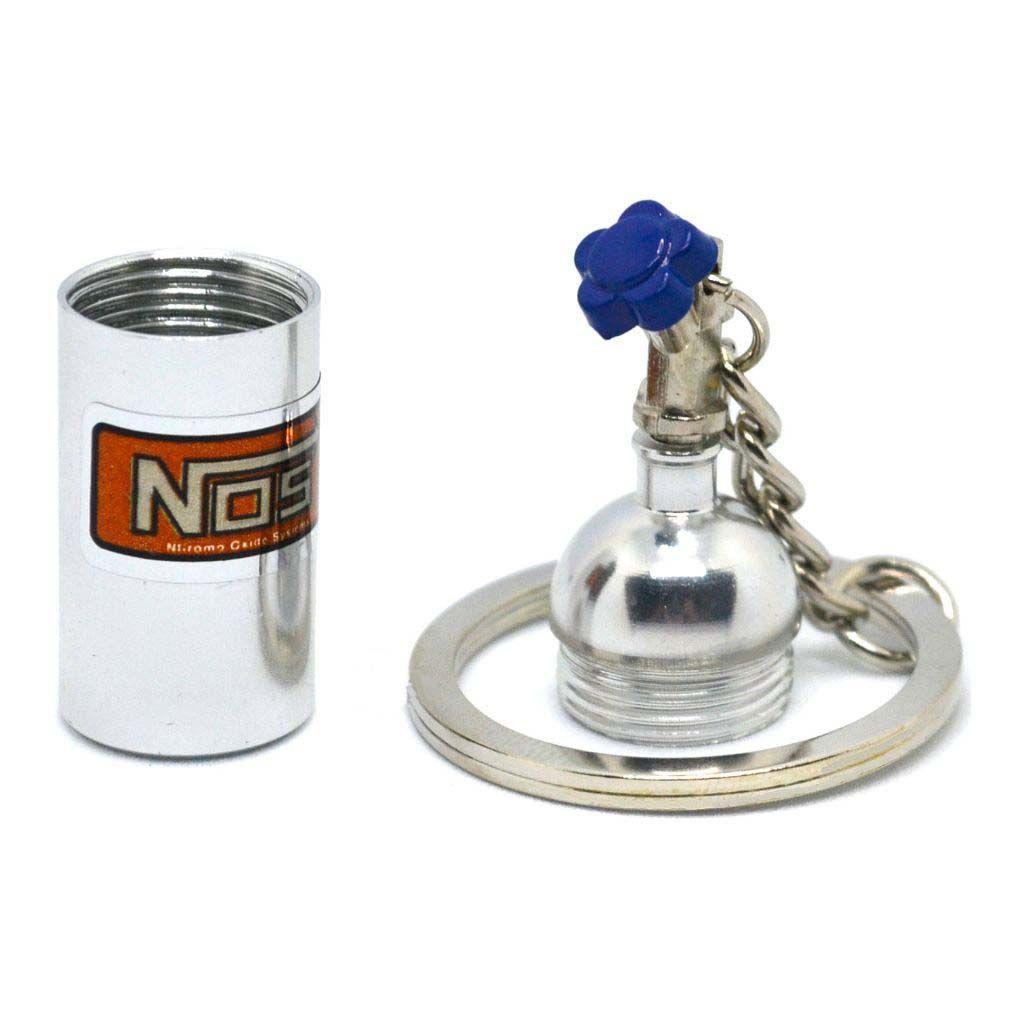 Nitrous Oxide Systems - NOS - Брелок-тайник СЕРЫЙ