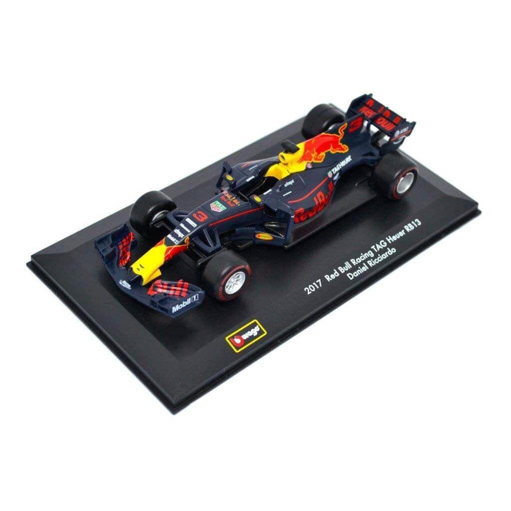 Масштабная литая автомодель - Red Bull RB13 TAG-Heuer #3