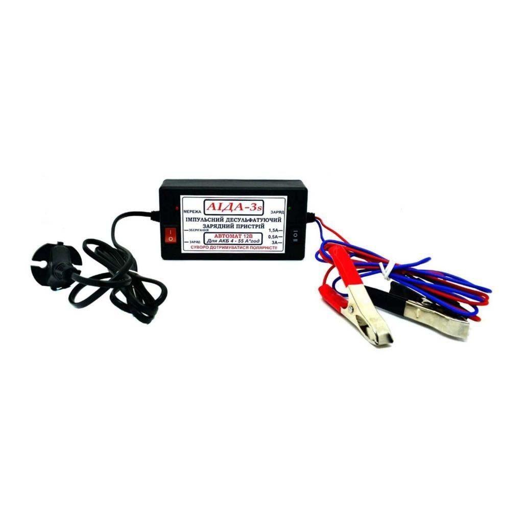 Автоматическое десульфатирующее зарядное устройство - AIDA-3s