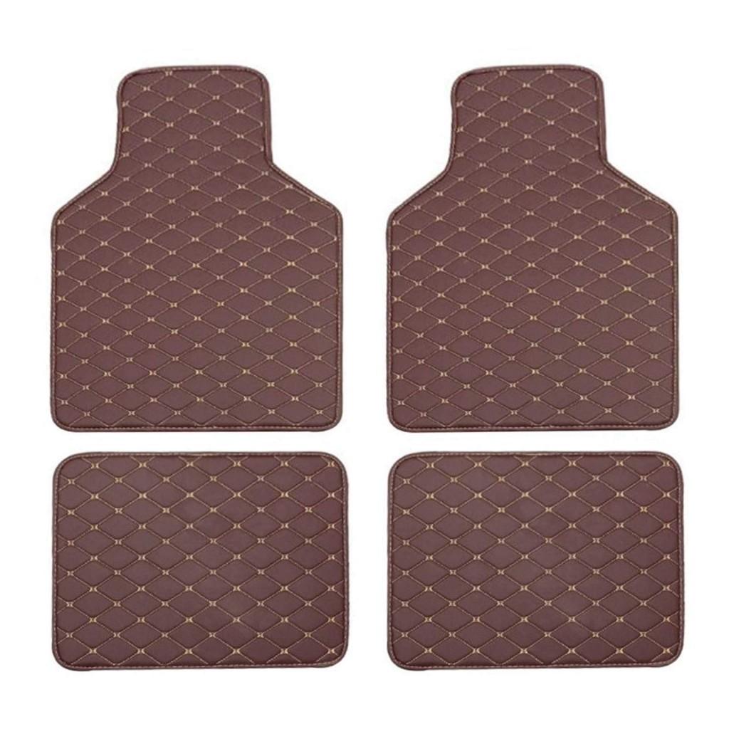 Купить коврики для авто с ромбическим швом из экокожи