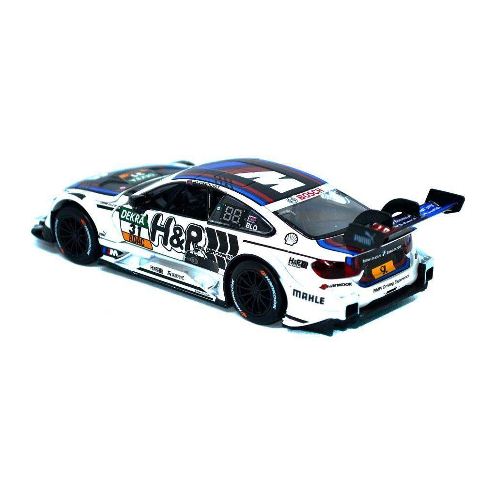 Масштабная автомодель -  BMW M4 DTM - #31 - TOM BLOMQVIST - 1:32 - H&R