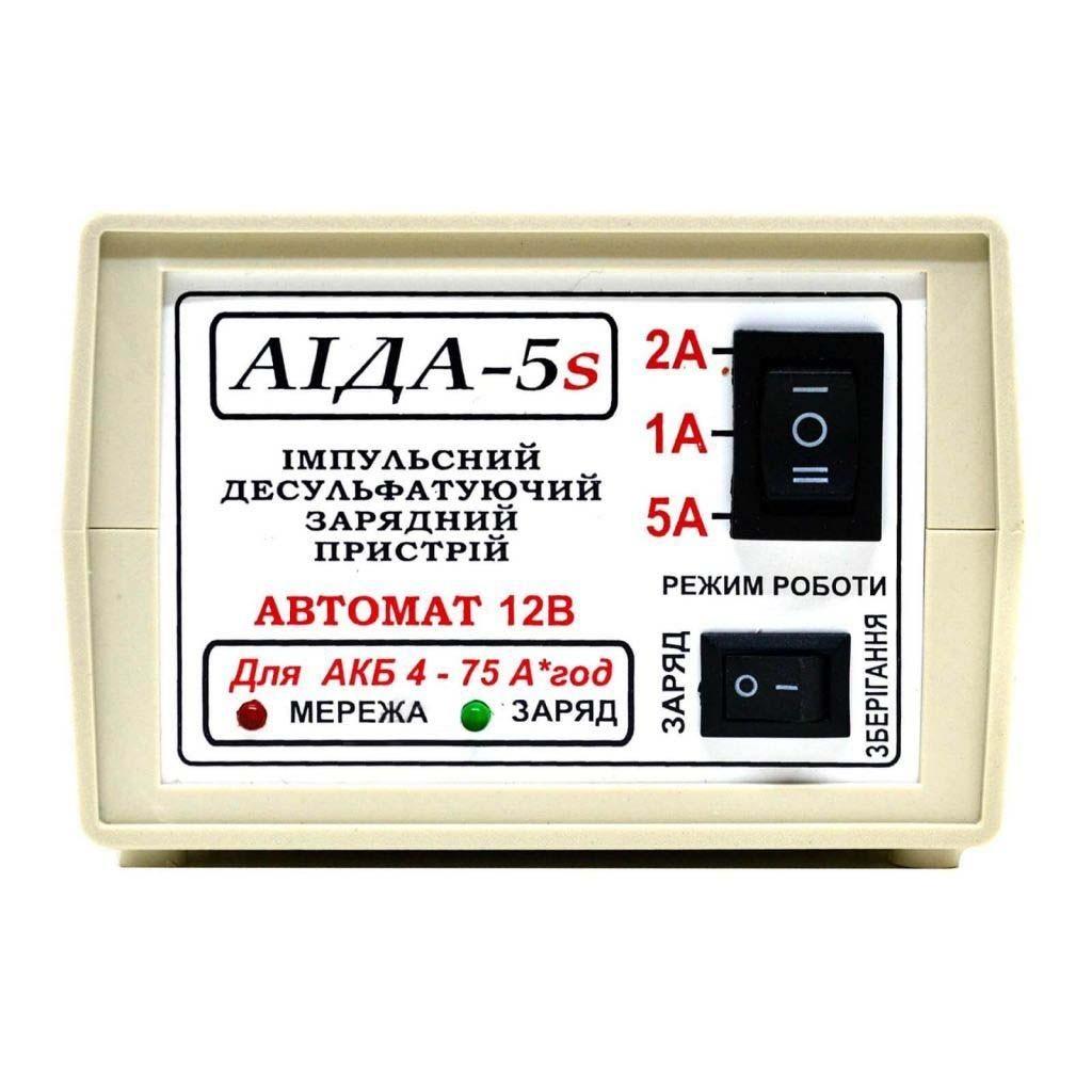 Автоматическое десульфатирующее зарядное устройство аккумулятора AIDA-5s