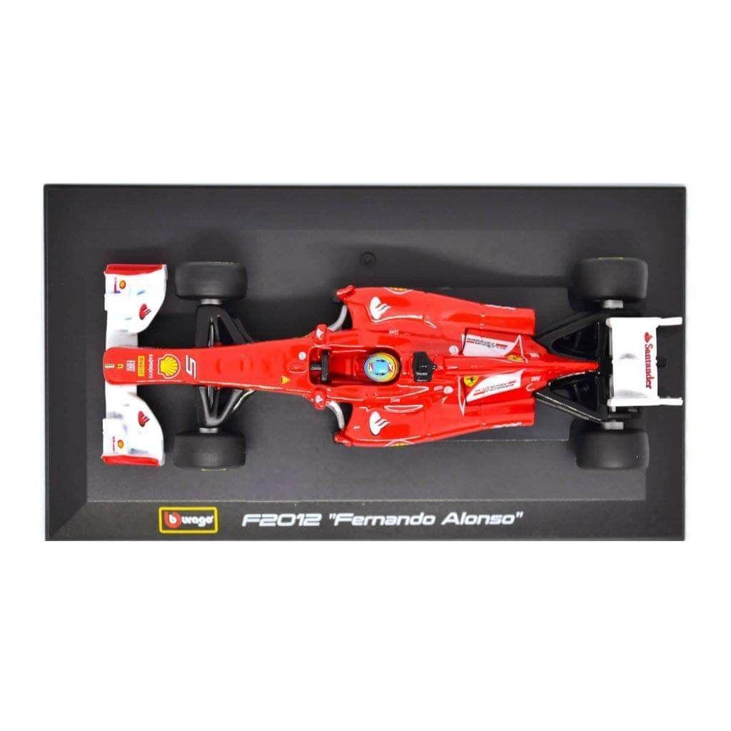 Коллекционные модели Формула 1 - Ferrari F2012 #5 - 1:32