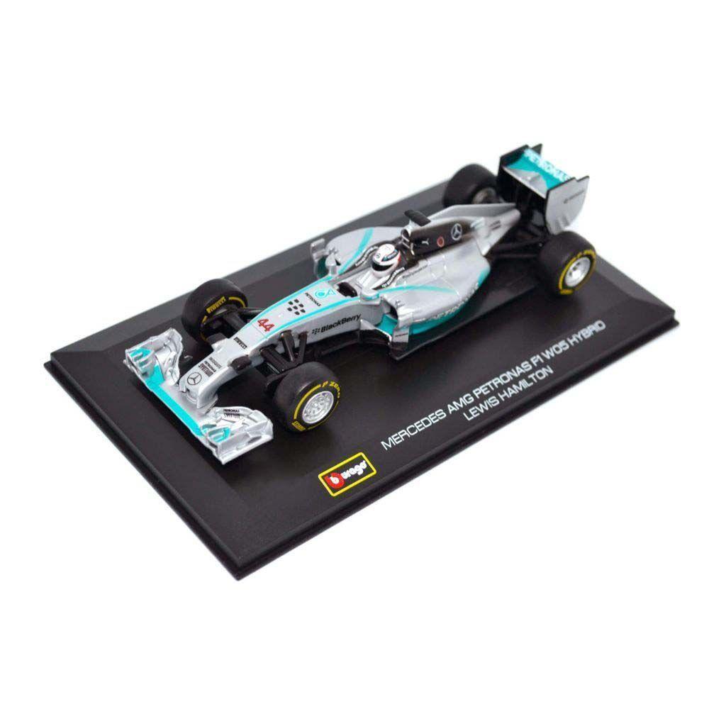 Масштабная автомодель Bburago - Mercedes F1 W05 Hybrid #44