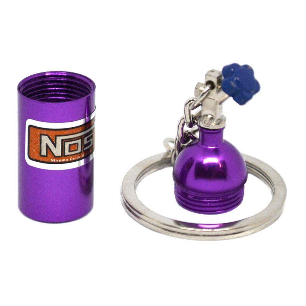 """Брелок фиолетовый баллон """"NOS"""" - Оригинальный подарок любимому"""