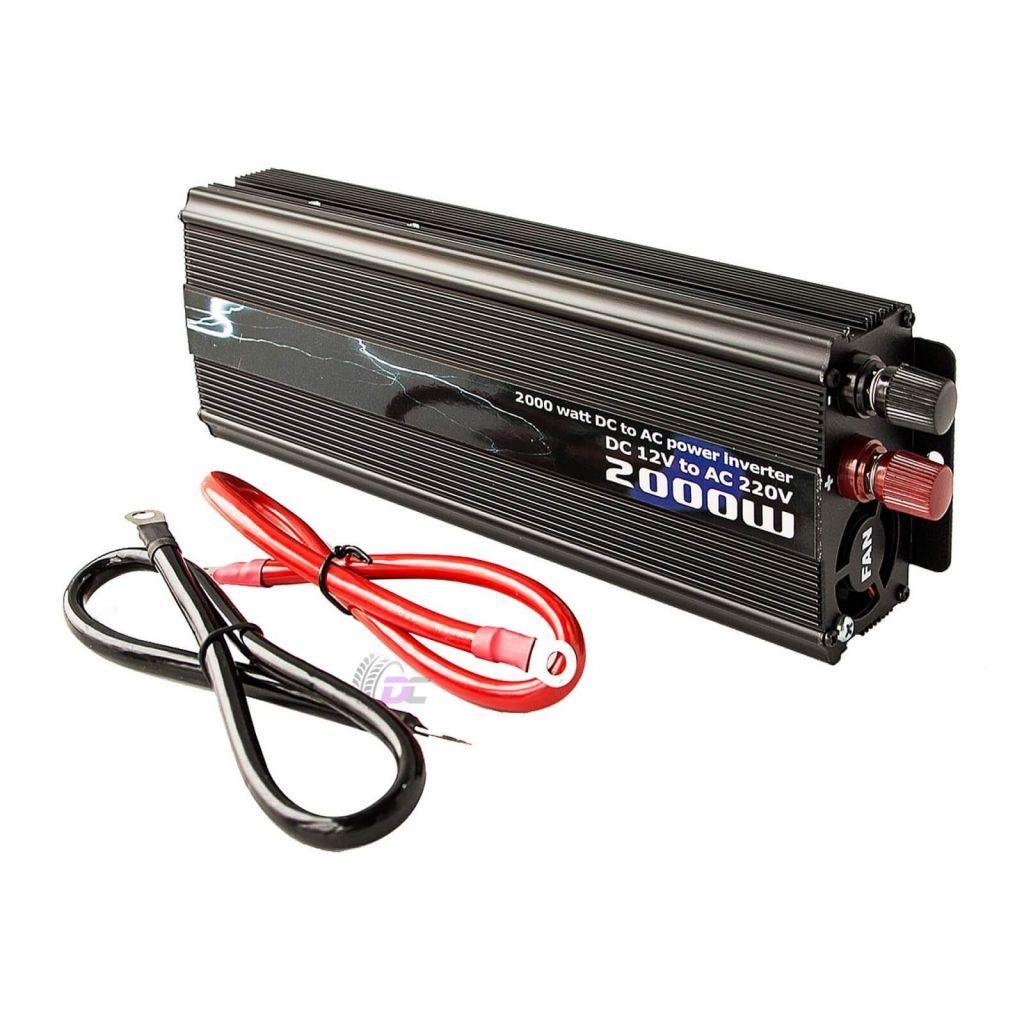 Автомобильный инвертор напряжения - PICC N2 2000 Вт