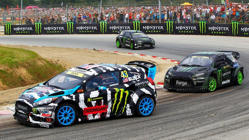 Кен Блок на World Rallycross Championship - World RX
