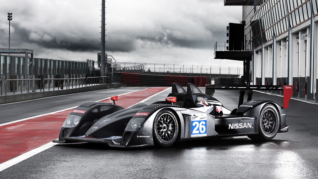 Nissan на 24 Hours of Le Mans