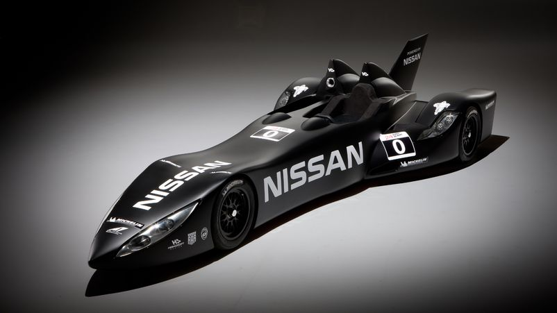 Nissan DeltaWing на 24 HOURS OF LE MANS