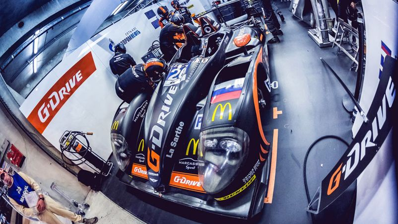 Nissan G-Drive Racing на 24 HOURS OF LE MANS