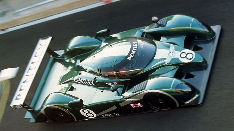 Bentley Speed 8 на 24 HOURS OF LE MANS